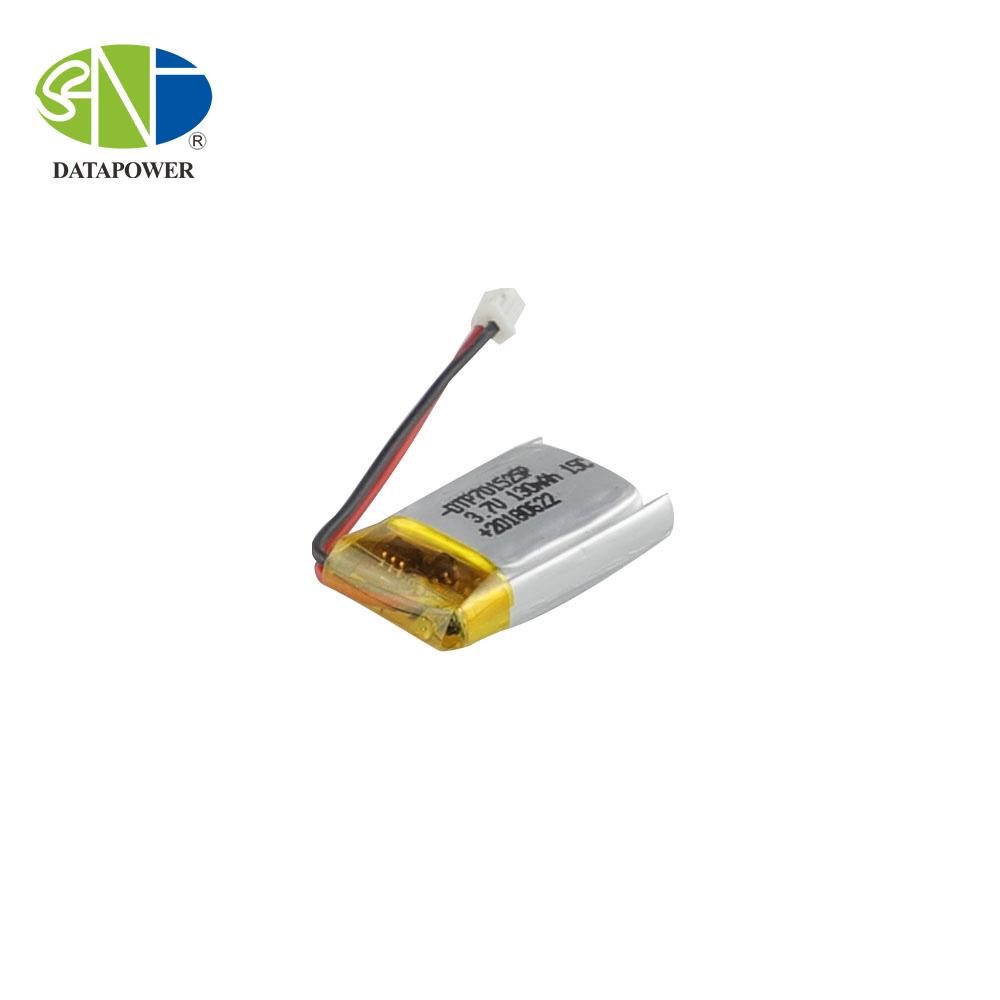 701525 130mAh Lihtium ion polymer battery