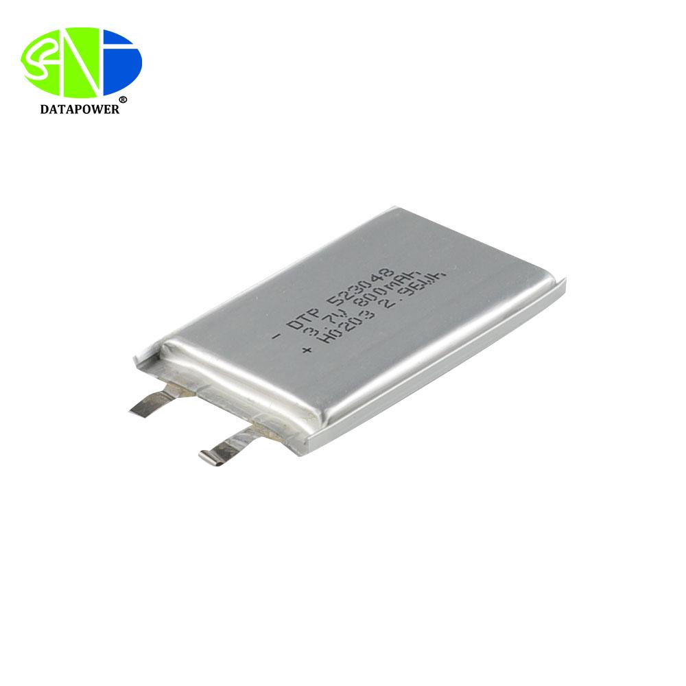 KC IEC62133 CB CE Approve 523048 3.7v li polymer battery 3.7v 1000mAh