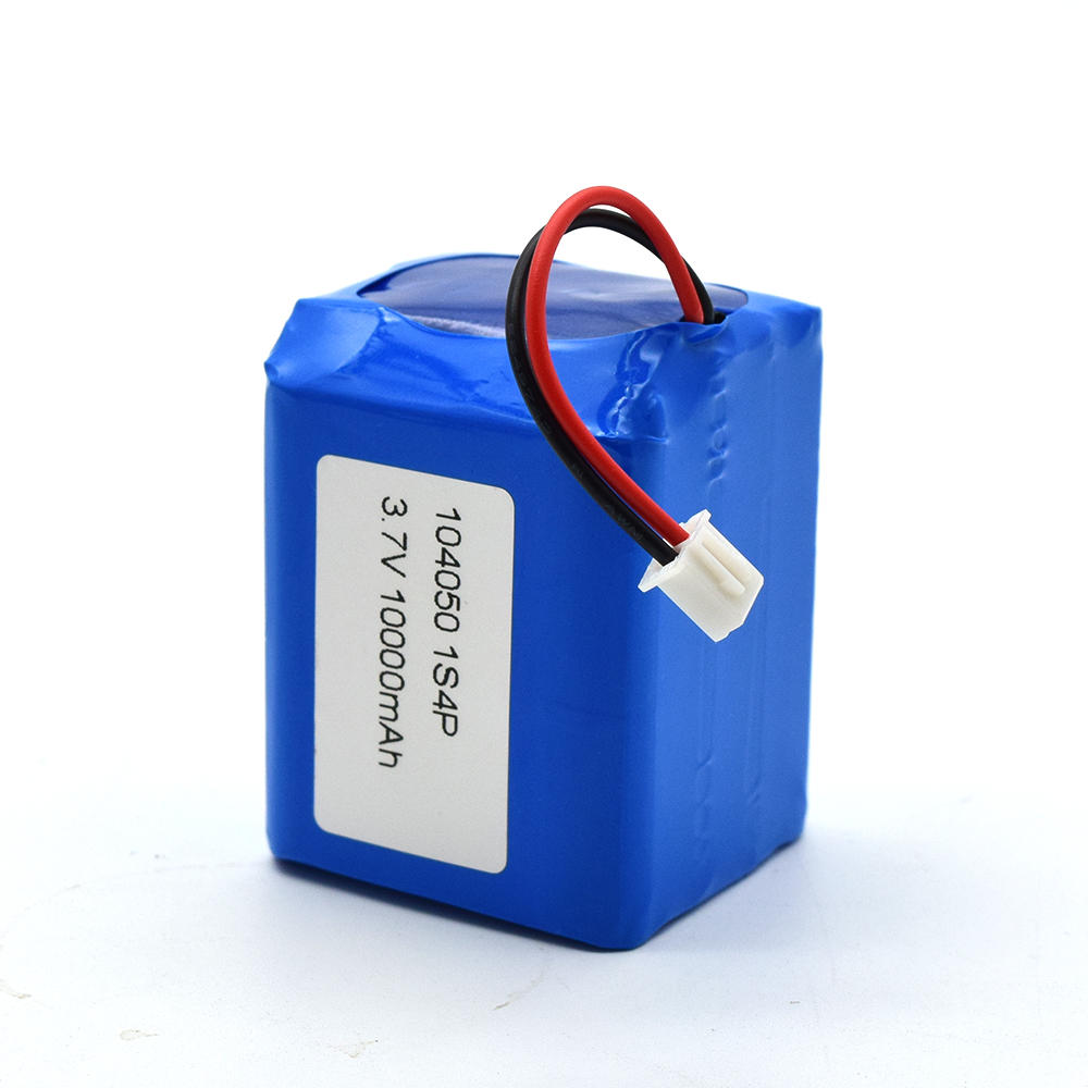 Rechargeable polymer lipo battery pack 3.7v 10000mAh 10Ah Battery DTP104050-4P
