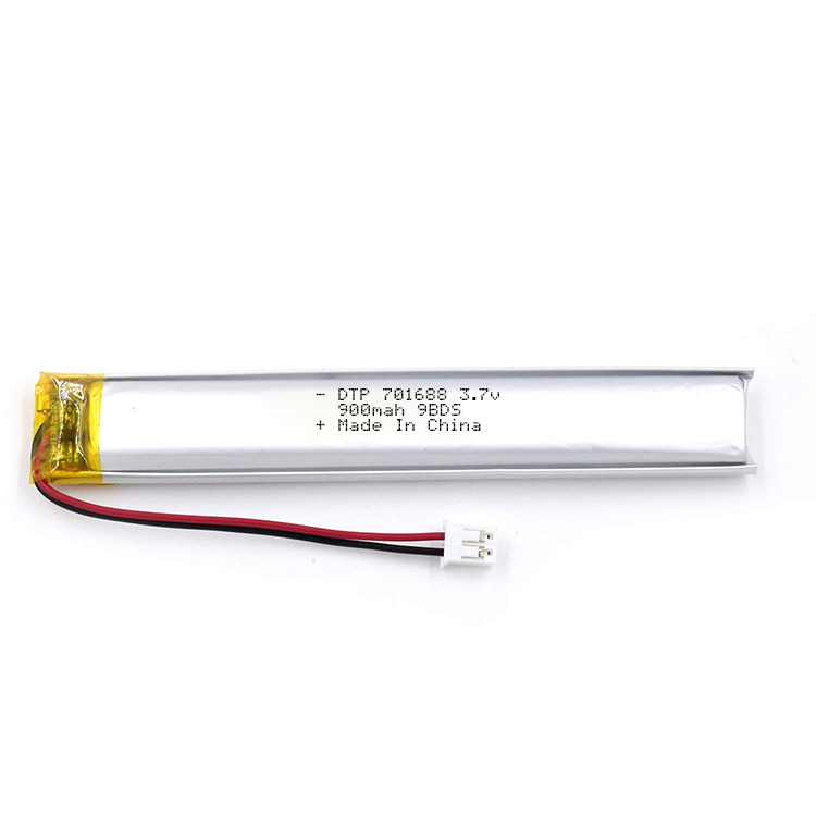 Long cycle lipo battery DTP701688 3.7V 900mAh lithium polymer battery on sale