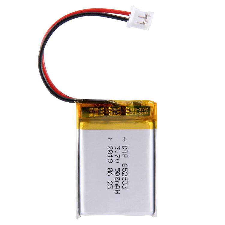 Factory Supply 602535 Lipo Battery 3.7v 500mah Li Ion Polymer Battery Ce Li-polymer