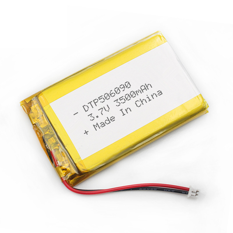 Rechargeable lithium li-ion polymer battery 3.7V 3500mah 506090 li-po li polymer battery pack