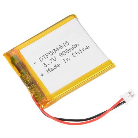 DTP battery 3.7v 900mah 504045 li-polymer lipo rechargeable battery for mini speaker