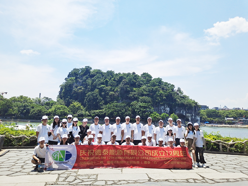 The company team travel to celebrate company's 12th anniversary | DTP battery