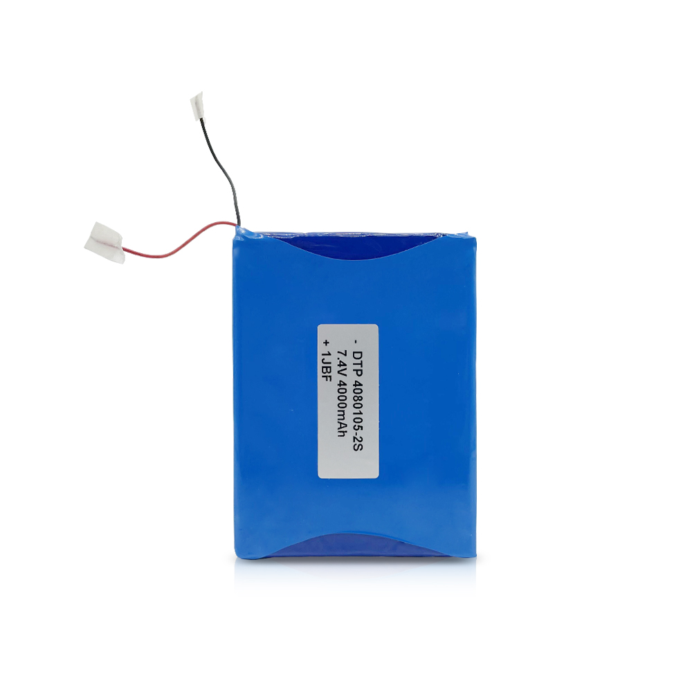 Rechargeable li polymer battery pack 7.4v 4000mah thin with PCB